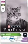 PRO PLAN® Sterilised 7+ для стерилизованных кошек старше 7 лет С ИНДЕЙКОЙ (1,5 кг)