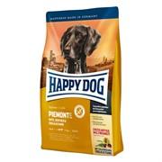 HAPPY DOG .корм д/собак Пьемонт (утка, морская рыба с каштаном)