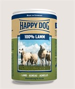 HAPPY DOG консервы д/с 100% мясо ягненок 0,4 кг