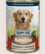 HAPPY DOG Телятина с индейкой   0,4 кг