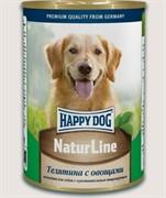 HAPPY DOG Телятина с овощами 0,4 кг