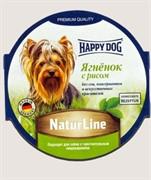 HAPPY DOG Хэппи Дог Паштет Ягненок с рисом 0,085 кг.