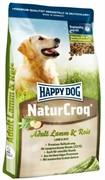 HAPPY DOG корм д/с Натур.крок ягненок/рис (15 кг)