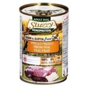 Stuzzy Monoprotein Консервированный корм для взрослых собак (со свежей телятиной)