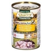 Stuzzy Monoprotein Консервированный корм для взрослых собак (со свежей курицей)