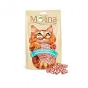 MOLINA Молина лакомства д/к Куриный сэндвич с сырными шариками 80г