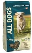 ALL DOGS Полнорационный корм для взрослых собак  (ALL DOGS) (20 кг)