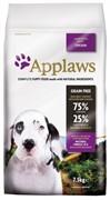 APPLAWS Беззерновой для Щенков крупных пород Курица/Овощи: 75/25% (Dry Dog Chicken Large Breed Puppy) (7,5 кг)