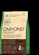 ONE&ONLY Turkey Rice Adult MINI Breed Индейка с рисом для взрослых собак мелких пород 12 кг