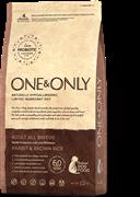 ONE&ONLY Rabbit & Rice Adult All BreedsКролик с рисом для взрослых собак всех пород 12 кг