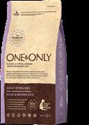 One&Only Duck &Rice Adult STERILIZEDУтка с рисом для стерилизованных кошек (2 кг)