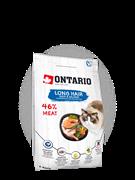 Ontario Для длинношерстных кошек, с уткой и лососем