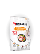 Ontario Корм Ontario для короткошерстных кошек, с курицей и уткой, Ontario Cat Shorthair