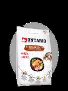Корм Ontario для пожилых стерилизованных кошек, с курицей, Ontario Cat Sterilised 7+