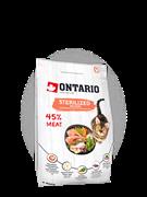 Ontario для стерилизованных кошек, с лососем, Ontario Cat Sterilised Salmon