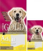 NERO GOLD Для Взрослых собак: Курица и рис (12 кг)