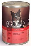 """NERO GOLD консервы для собак """"Свежая оленина"""", Venison"""