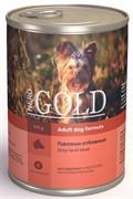 """NERO GOLD кусочки в желе для собак """"Говяжьи отбивные"""", Strip Beef Steak"""