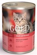 """NERO GOLD консервы для кошек """"Свежий ягненок"""", Lamb"""