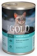 """NERO GOLD кусочки в желе для кошек """"Рыбный коктейль"""", Mixed Fish"""
