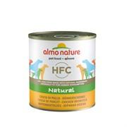 Almo-Nature Консервы для Собак Куриные Бедрышки (Classic Chicken Drumstick)