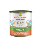 Almo-Nature Консервы для Собак с Тунцом и Курицей (Classic Tuna&Chicken)
