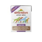 Almo-Nature Консервы для собак с Курицей и Говядиной (Daily Menu Chicken&Beef Tetrapack)