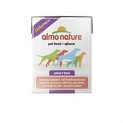 Almo-Nature Консервы для собак с Тунцом и Лососем (Daily Menu Tuna&Salmon Tetrapack)