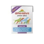 Almo-Nature Консервы для собак с Тунцом и рисом (Daily Menu Tuna&Rice Tetrapack)