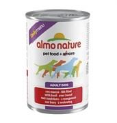 Almo-Nature Консервы для собак Меню с говядиной (Daily Menu with Beef)