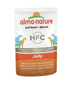 "Almo Nature паучи для собак ""Курица и морковь в желе"", Chicken and Carrots - Jelly"