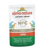 """Almo Nature паучи для собак """"Тунец и сладкая кукуруза в желе"""", Tuna and Sweet Corn - Jelly"""