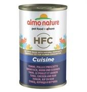 Almo-Nature Консервы для Кошек с Тунцом, Курицей и Ветчиной (Classic Adult Cat Tuna&Chicken&Ham)