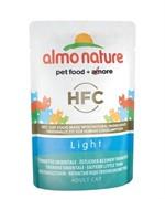 Almo-Nature Паучи для кастрир. котов и кошек с пятнистым Индо-Тихоокеанским тунцом для кошек (Classic Light  Eastern Little Tuna)
