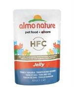 Almo-Nature Паучи Тунец и Камбала в Желе для кошек (Jelly Cat Tuna&Sole)