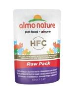 "Almo Nature Паучи 75% мяса для кошек ""Куриная грудка и утиное филе"""