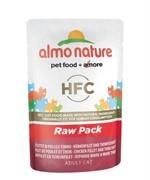 "Almo Nature Паучи 75% мяса для кошек ""Филе тунца с курицей"""