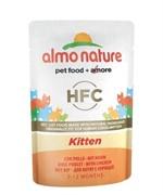 Almo Nature Паучи холистик для котят