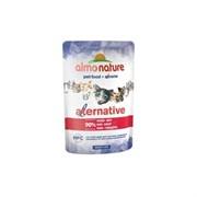 "Almo Nature Alternative Паучи для кошек ""Говядина"" 90% мяса"