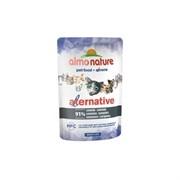 Almo Nature Alternative Паучи для кошек с сардинами 91% мяса