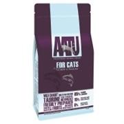 AATU Корм для взрослых кошек с лососем и сельдью (3 кг)
