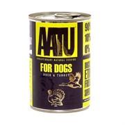 AATU Консервы для взрослых собак с уткой и индейкой