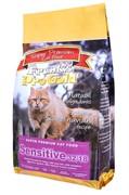 """Frank's ProGold для кошек с чувствительным пищеварением """"Ягненок по-голландски"""", Sensitive 32/18 (7,5 кг)"""