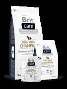 Brit Care   Dog Show Champion д/выставочных собак лосось и сельдь с рисом