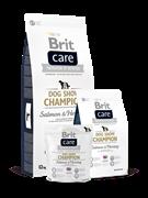 Brit Care   Dog Show Champion д/выставочных собак лосось и сельдь с рисом (12 кг)