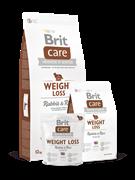Brit Care  Weight Loss д/собак с лишним весом кролик с рисом