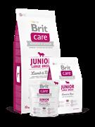 Brit Care Junior Large Breed  д/щенков крупных пород ягнёнок с рисом