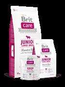 Brit Care Junior Large Breed  д/щенков крупных пород ягнёнок с рисом (12 кг)
