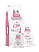 Brit Care Salmon&Potato Puppy д/щенков беззерновой