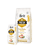 Brit Fresh Chicken with Potato Adult курица и картофель для взрослых собак